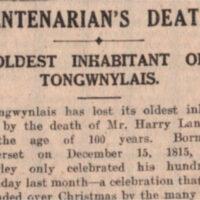 The Obituary of Harry Punch