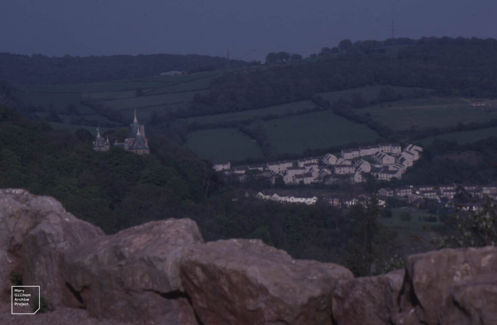 Castell Coch. Tongwynlais. Sleetley Summit, Little Garth. 1989