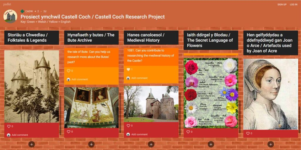 Castell Coch Research Project screenshot