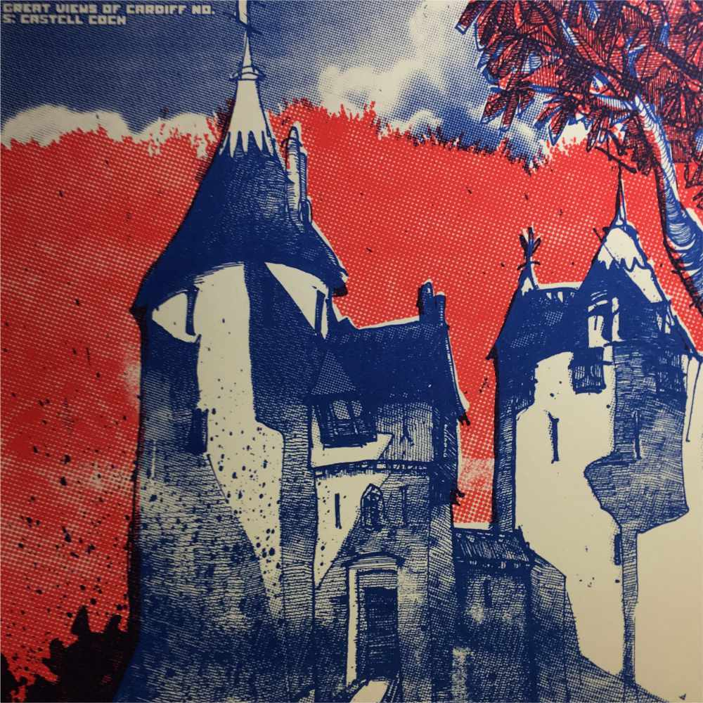 Castell Coch illustration