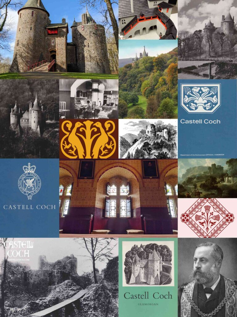 Promotional poster for CastellCoch.com