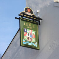 The Lewis Arms Heraldry