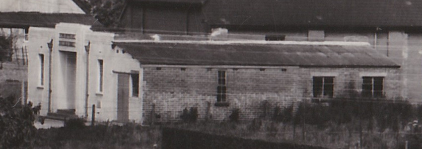 Close up of the village hall