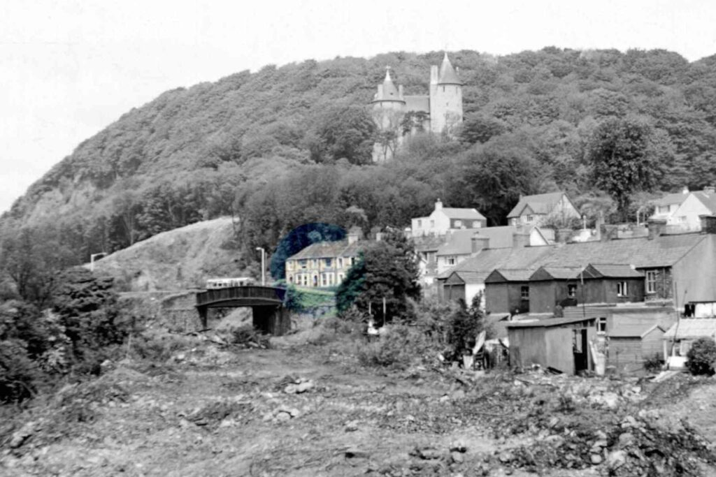 Old photo of Tongwynlais village, Cardiff